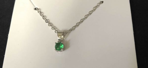 Green Sapphire Necklace
